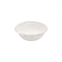 800ml 100% Degradable Sugarcane Round Bowl