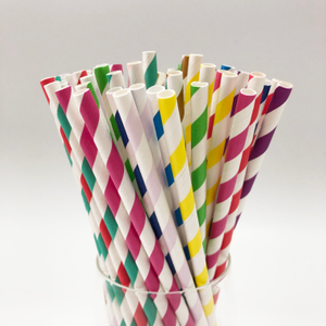 Disposable Biodegradable Paper Straw