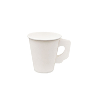 7OZ Eco Green Paper Cup with Handle
